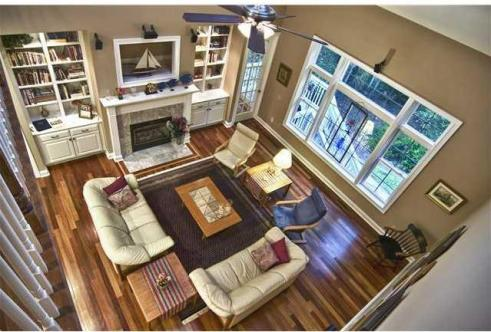 Family room from above cr