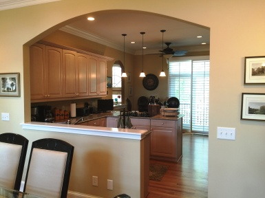 Kitchen from DR