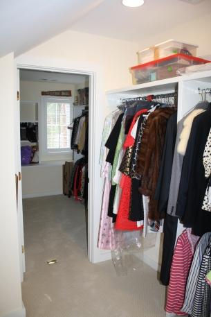 Upstairs Closets